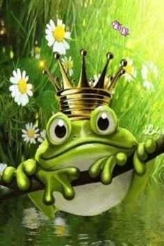 Did You Ever Hear Of A Frog That Dreamed Of Being A King?